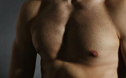 Erogenous Spots in a Man's Body